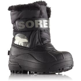 Sorel Snow Commander Boots Toddler Black/Charcoal